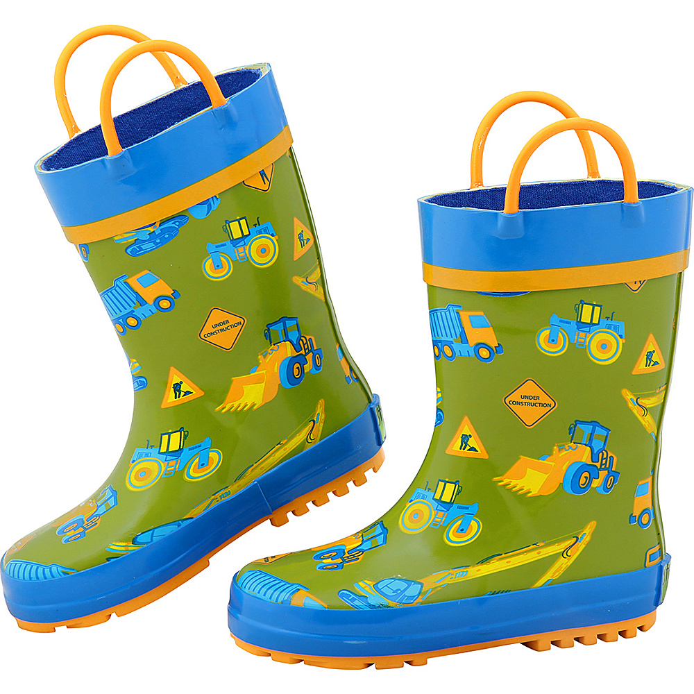 Stephen Joseph Kids Rain Boot 9 (US Toddlers) - Construction - Stephen Joseph Womens Footwear - Apparel & Footwear, Women's Footwear