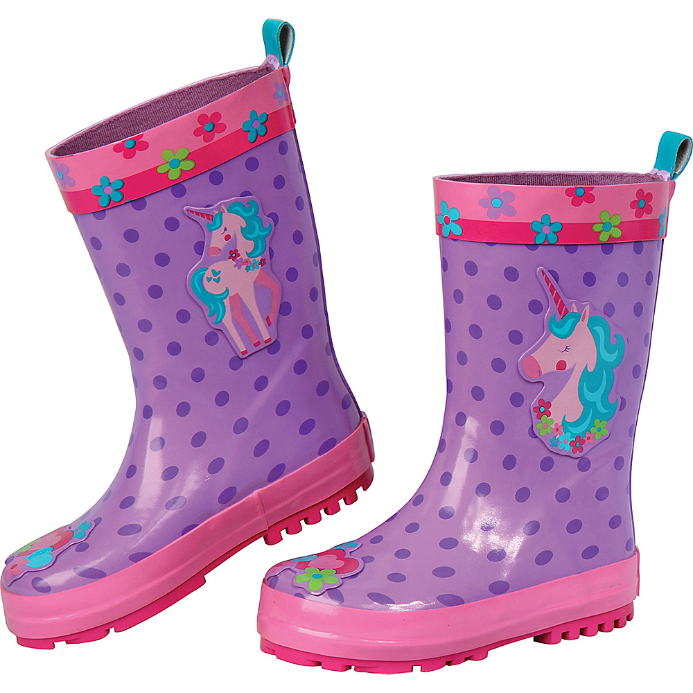 Stephen Joseph Kids Rain Boot 8 (US Toddlers) - Unicorn - Stephen Joseph Womens Footwear - Apparel & Footwear, Women's Footwear