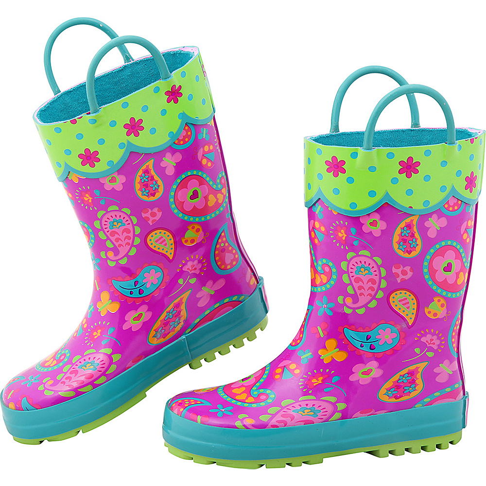 Stephen Joseph Kids Rain Boot 6 (US Toddlers) - Paisley - Stephen Joseph Womens Footwear - Apparel & Footwear, Women's Footwear