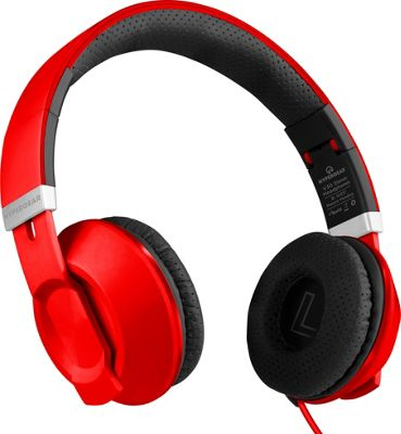 HyperGear V30 Headphones with Mic 3.5mm Red - HyperGear Headphones & Speakers