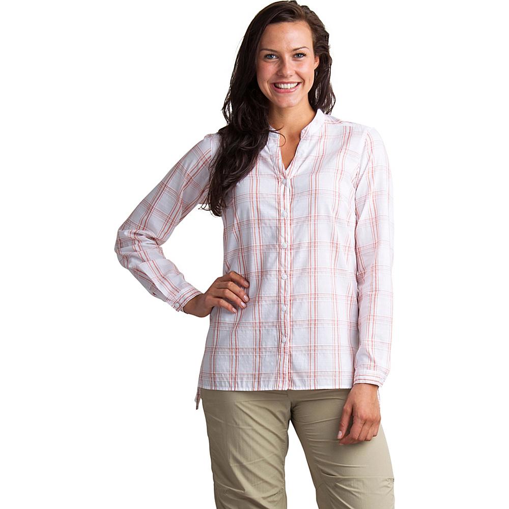 ExOfficio Womens Bugs Away Sevilla Long Sleeve Shirt XS - Tamarind - ExOfficio Womens Apparel - Apparel & Footwear, Women's Apparel