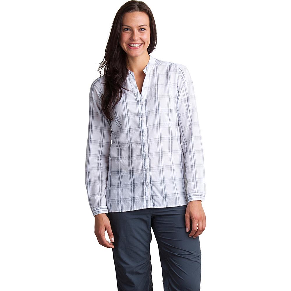 ExOfficio Womens Bugs Away Sevilla Long Sleeve Shirt S - Carbon - ExOfficio Womens Apparel - Apparel & Footwear, Women's Apparel
