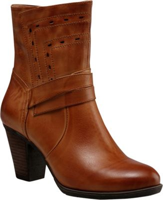 Vicenzo Footwear Ruby Chunky Heel Women Leather Boots 9 - Brown - Vicenzo Footwear Women's Footwear