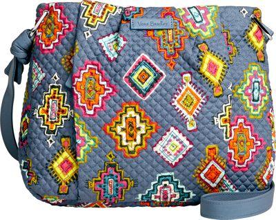Vera Bradley Hadley Crossbody Painted Medallions - Vera Bradley Fabric Handbags