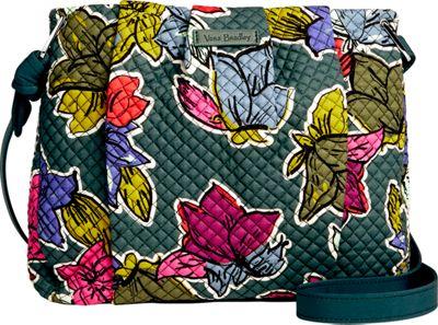 Vera Bradley Hadley Crossbody Falling Flowers - Vera Bradley Fabric Handbags