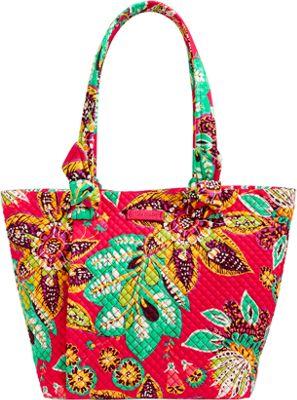 Vera Bradley Hadley East West Tote Rumba - Vera Bradley Fabric Handbags