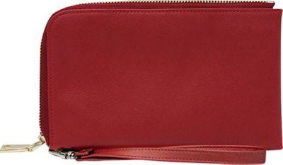 HButler Spark Cell Charging Wristlet Red - HButler Manmade Handbags