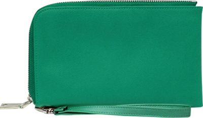 HButler Spark Cell Charging Wristlet Lagoon Green - HButler Manmade Handbags
