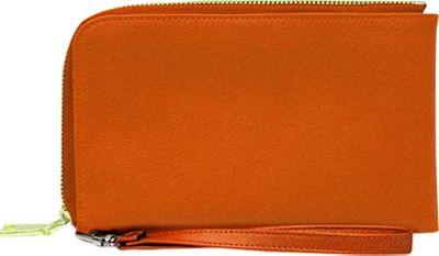 HButler Spark Cell Charging Wristlet Orange - HButler Manmade Handbags