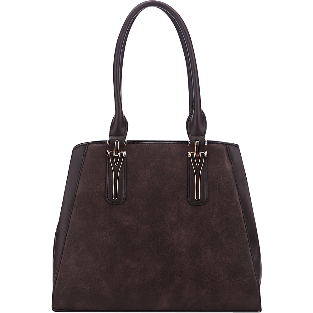 MKF Collection Stella Tote Bag Coffee - MKF Collection Manmade Handbags - Handbags, Manmade Handbags