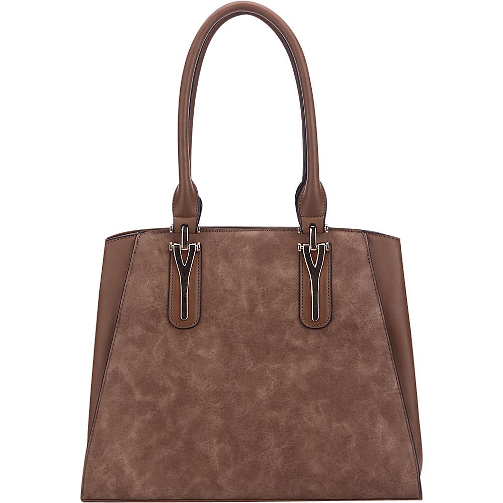 MKF Collection by Mia K. Farrow Stella Tote Bag Khaki - MKF Collection by Mia K. Farrow Manmade Handbags - Handbags, Manmade Handbags