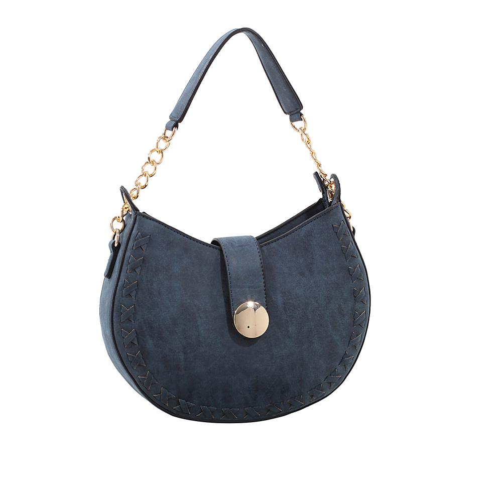 MKF Collection by Mia K. Farrow Aisha Crossbody Blue - MKF Collection by Mia K. Farrow Manmade Handbags - Handbags, Manmade Handbags