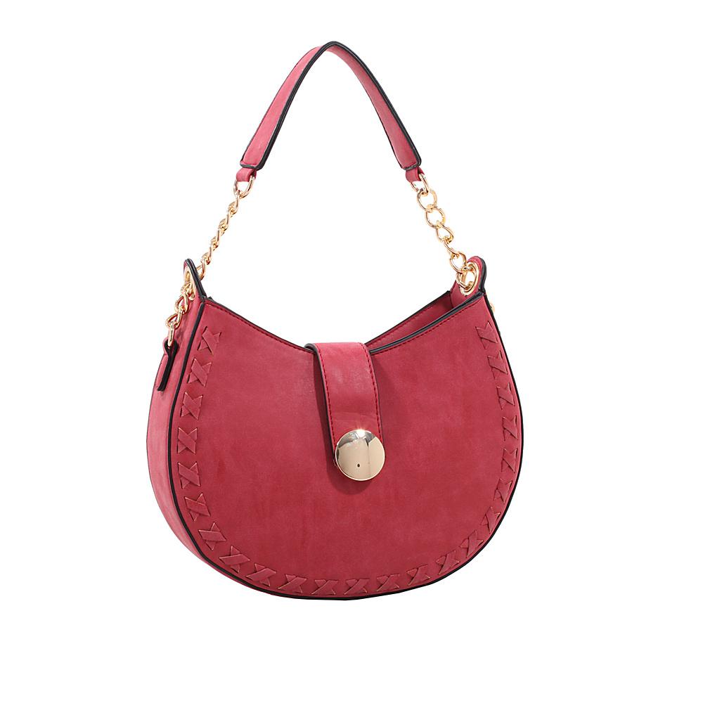 MKF Collection by Mia K. Farrow Aisha Crossbody Red - MKF Collection by Mia K. Farrow Manmade Handbags - Handbags, Manmade Handbags