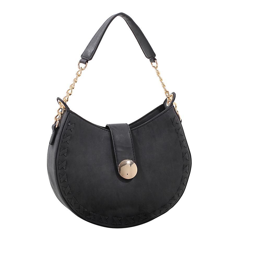 MKF Collection by Mia K. Farrow Aisha Crossbody Black - MKF Collection by Mia K. Farrow Manmade Handbags - Handbags, Manmade Handbags