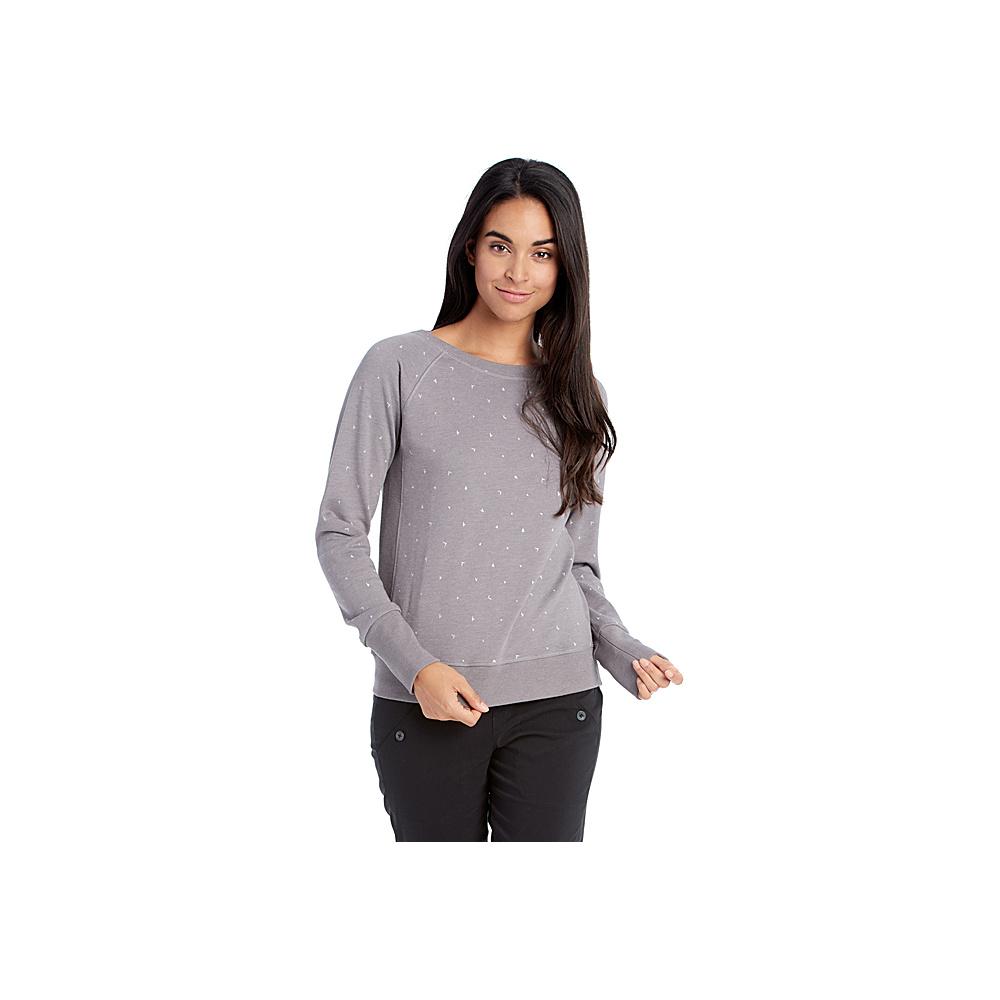 Lole Saya Top XS - Warm Grey Heather - Lole Womens Apparel - Apparel & Footwear, Women's Apparel