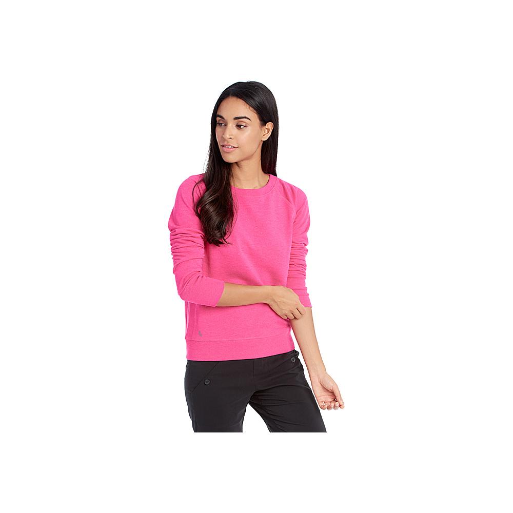 Lole Saya Top XS - Fuchsia Purple Heather - Lole Womens Apparel - Apparel & Footwear, Women's Apparel