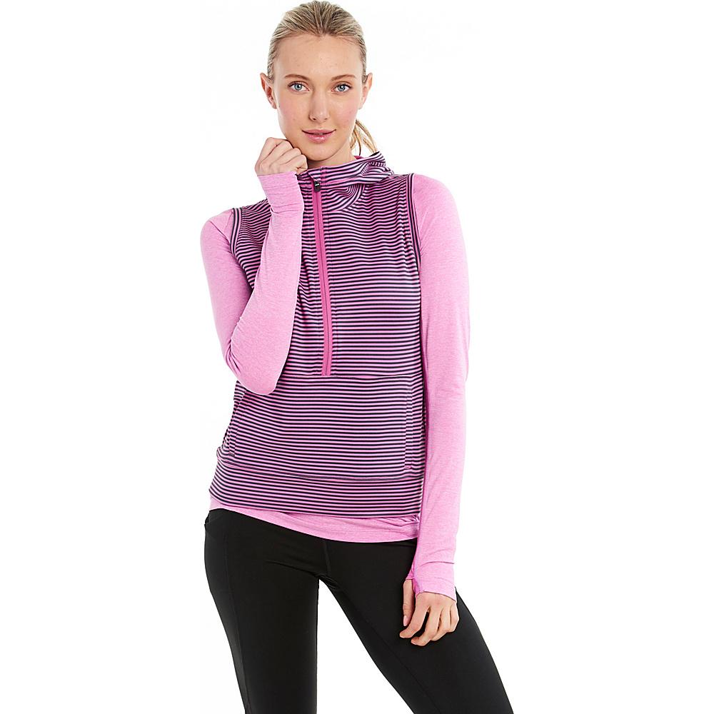 Lole Echo Hoodie XS - Spring Crocus Stripe - Lole Womens Apparel - Apparel & Footwear, Women's Apparel