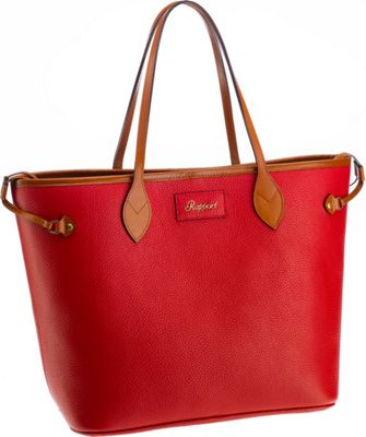 Rapport London Mayfair Leather Tote Bag Red - Rapport London Leather Handbags