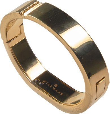 WiseWear Kingston Smart Bracelet Gold - WiseWear Wearable Technology