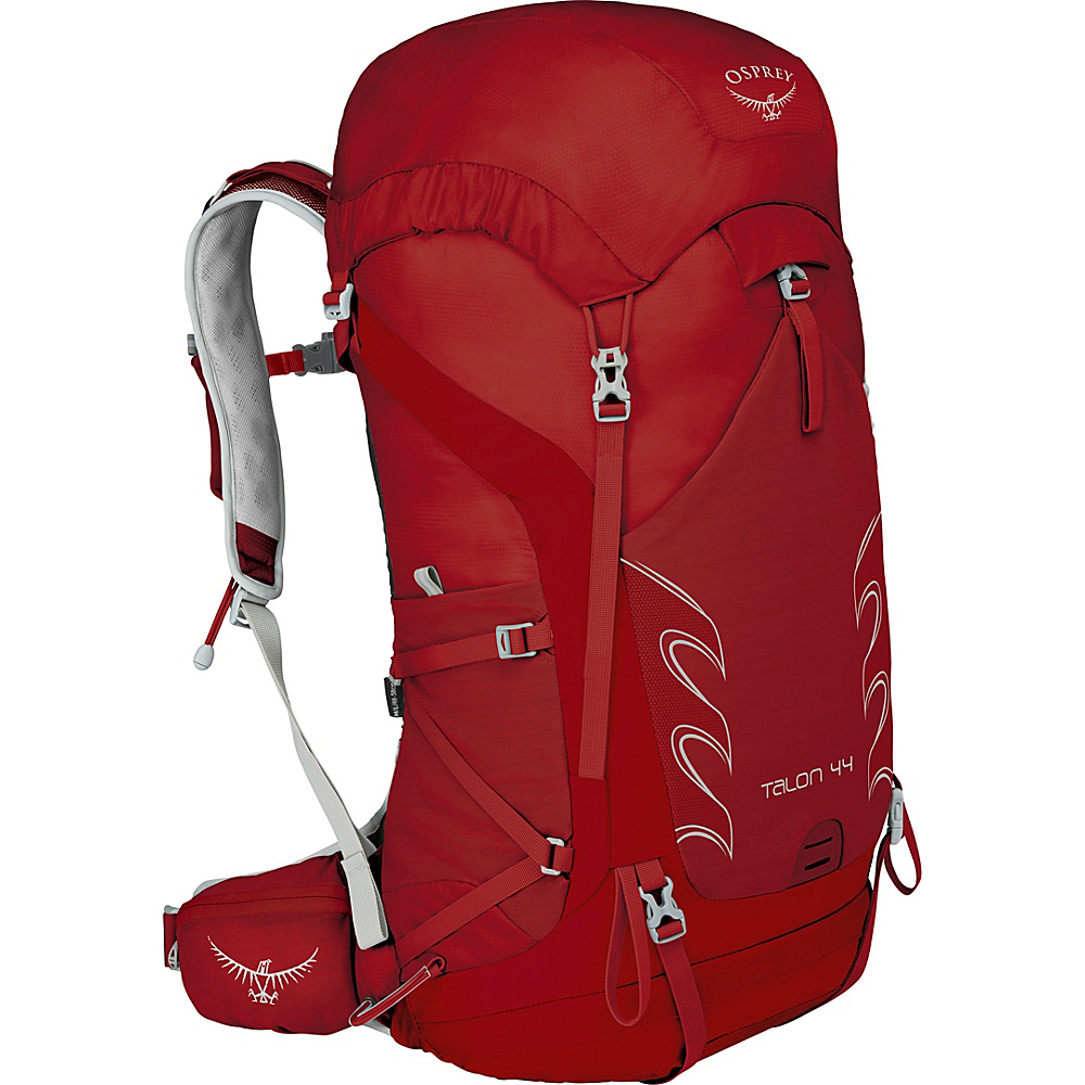 Osprey Talon 44 Hiking Pack Martian Red – S/M - Osprey Backpacking Packs - Outdoor, Backpacking Packs