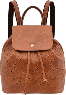 Mellow World Addy Backpack Camel - Mellow World Manmade Handbags