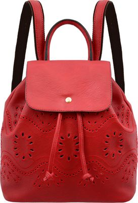 Mellow World Addy Backpack Maroon - Mellow World Manmade Handbags