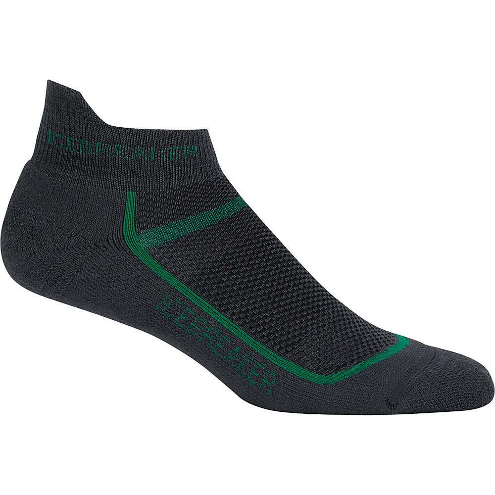 Icebreaker Mens Multisport Light Micro Sock S - Oil/Turf - Icebreaker Legwear/Socks - Fashion Accessories, Legwear/Socks