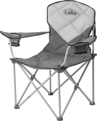 Core Equipment Padded Quad Chair Grey - Core Equipment Outdoor Accessories