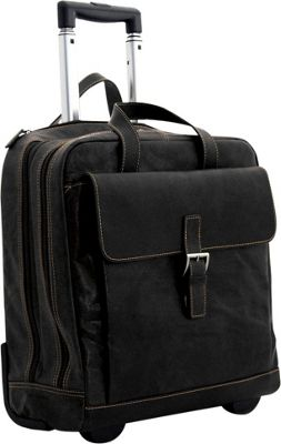 Jack Georges Voyager Vertical Laptop Compatible Wheeler Black - Jack Georges Wheeled Business Cases