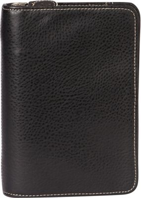 Franklin Covey Compact Size Secure Zip-Around 6-Ring Binder / Planner Black - Franklin Covey Business Accessories
