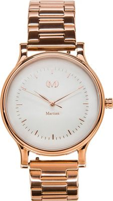 Martian Watches Martian CL 02 Smartwatch Creme Dial / Rose Gold Stainless Steel Case / ION - Martian Watches Wearable Technology