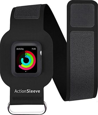 Twelve South ActionSleeve Armband for 38mm Apple Watch Black - Twelve South Wearable Technology
