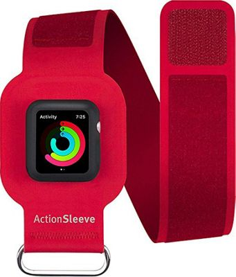 Twelve South ActionSleeve Armband for 38mm Apple Watch Red - Twelve South Wearable Technology