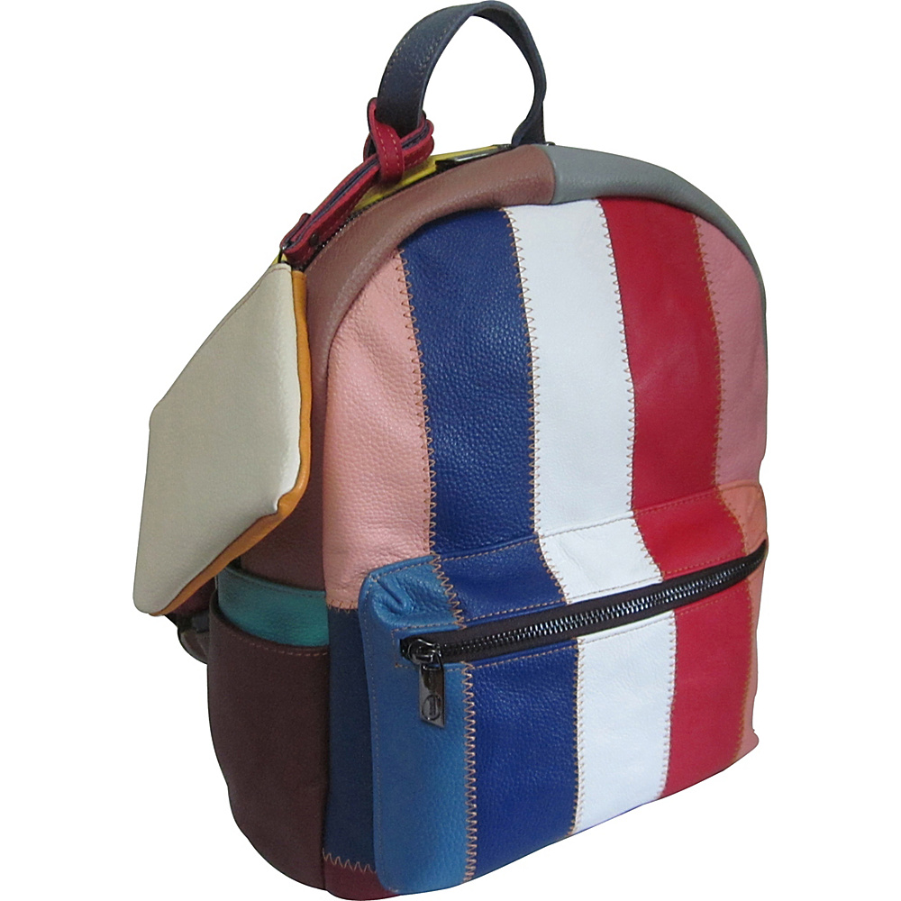 AmeriLeather Berne Leather Backpack Rainbow - AmeriLeather Leather Handbags - Handbags, Leather Handbags
