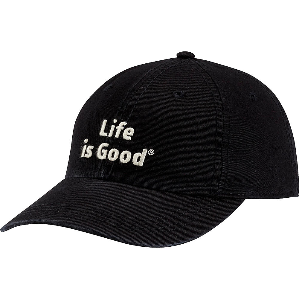 Life is good Branded Chill Cap One Size - Night Black - Life is good Hats - Fashion Accessories, Hats