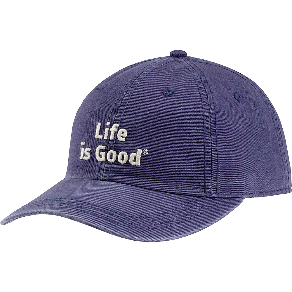 Life is good Branded Chill Cap One Size - Darkest Blue - Life is good Hats - Fashion Accessories, Hats