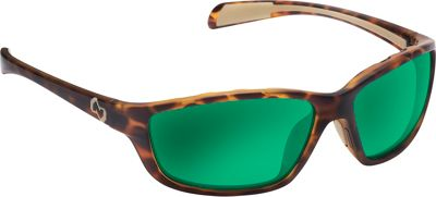 Native Eyewear Kodiak Sunglasses Desert Tort with Polarized Green Reflex - Native Eyewear Eyewear