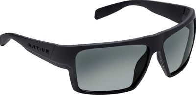 Native Eyewear Eldo Sunglasses Matte Black/Dark Gray/Matte Black with Polarized G - Native Eyewear Eyewear