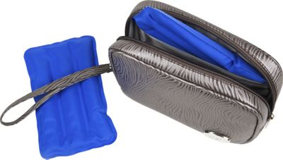 Cool-It Caddy Contempo Personal Cooler/Travel Bag Pewter - Cool-It Caddy Travel Coolers