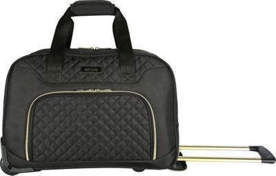 Kensie Luggage Kensie 19 inch Rolling Carry-On Travel Duffel Black - Kensie Luggage Rolling Duffels