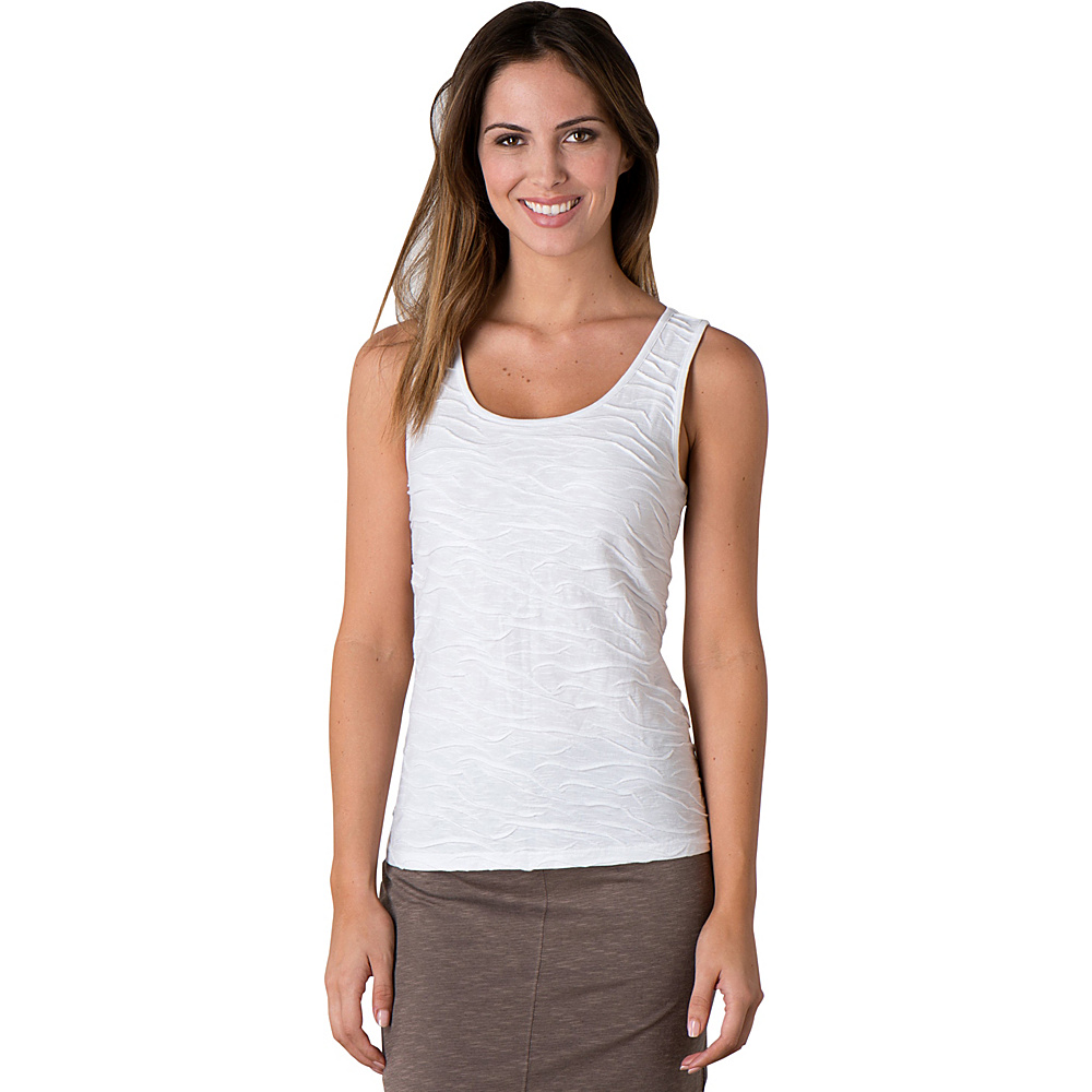 Toad & Co Samba Wave Tank S - White - Toad & Co Womens Apparel - Apparel & Footwear, Women's Apparel