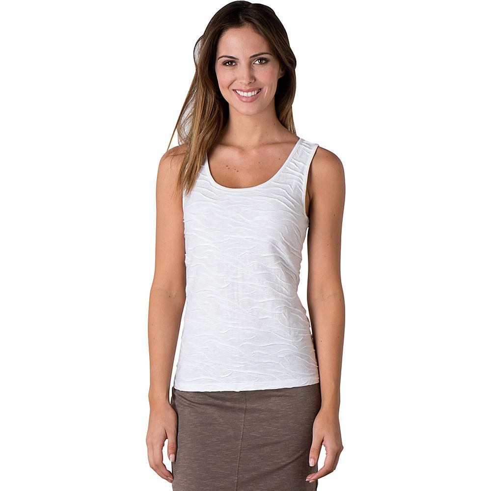 Toad & Co Samba Wave Tank XL - White - Toad & Co Womens Apparel - Apparel & Footwear, Women's Apparel