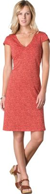 Toad & Co Rosemarie Dress XL - Spiced Coral Geo Print - Toad & Co Women's Apparel