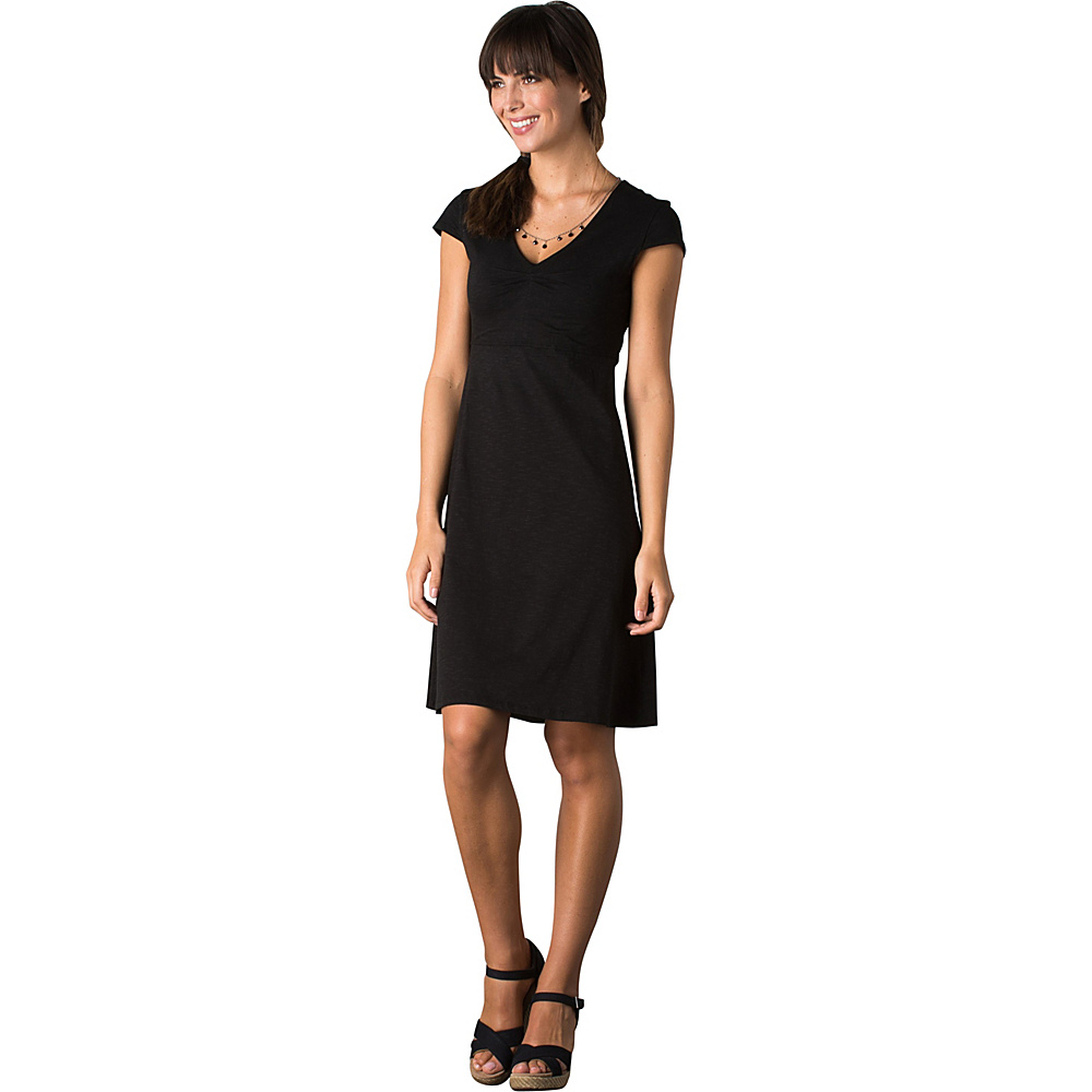 Toad & Co Rosemarie Dress XS - Black - Toad & Co Womens Apparel - Apparel & Footwear, Women's Apparel
