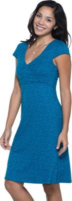 Toad & Co Rosemarie Dress XS - Seaport Quito Line Print - Toad & Co Women's Apparel