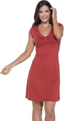 Toad & Co Rosemarie Dress XL - Red Clay - Toad & Co Women's Apparel