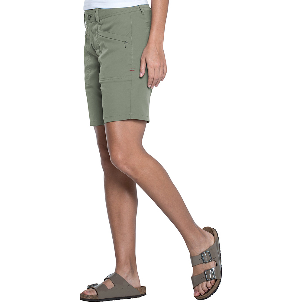 Toad & Co Metrolite Short 12 - 8in - Juniper - Toad & Co Womens Apparel - Apparel & Footwear, Women's Apparel