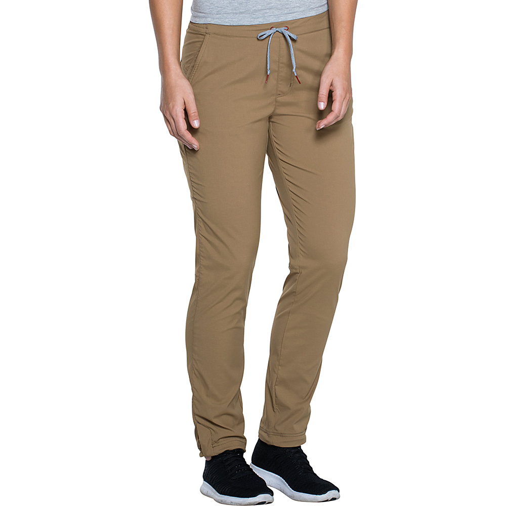 Toad & Co Lightrange Pant XS - 30in - Honey Brown - Toad & Co Womens Apparel - Apparel & Footwear, Women's Apparel