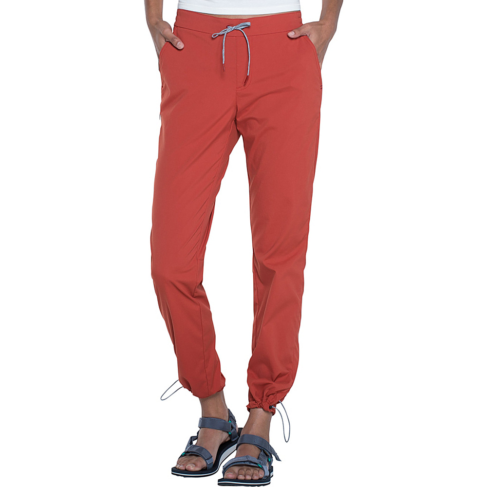Toad & Co Lightrange Pant L - 30in - Red Clay - Toad & Co Womens Apparel - Apparel & Footwear, Women's Apparel