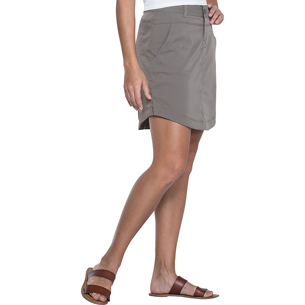 Toad & Co Metrolite Skirt 4 - Falcon Brown - Toad & Co Womens Apparel - Apparel & Footwear, Women's Apparel